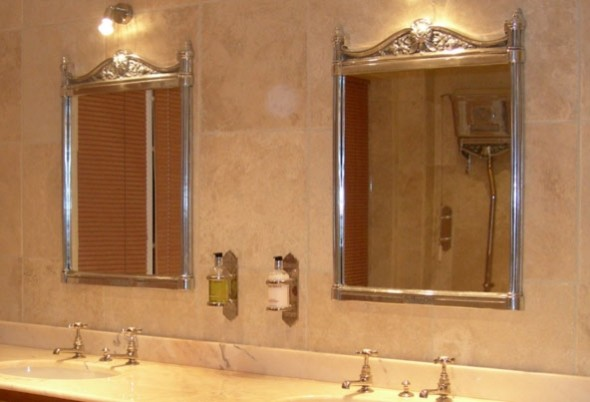 Chadder co mirrors and mirror cabinets traditional - Traditional bathroom mirror with lights ...