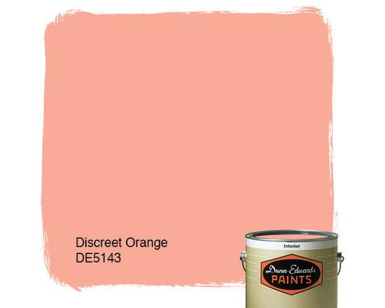 Dunn-Edwards Paints Discreet Orange DE5143 -