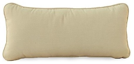 Orangeic Bolster Pillow - Frontgate, Patio Furniture traditional-decorative-pillows