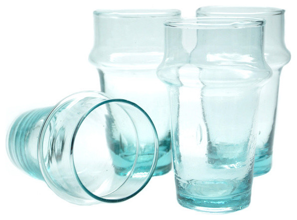 Recycled Juice Glass contemporary-everyday-glasses