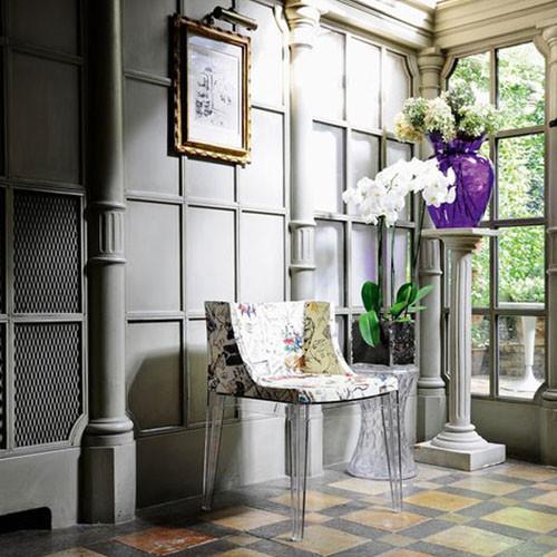 La boh me stool and vase by kartell modern vases for Decoration kartell