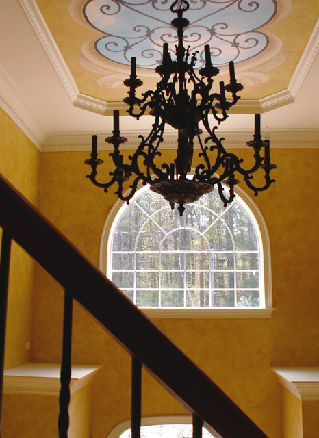 Old World Foyer traditional