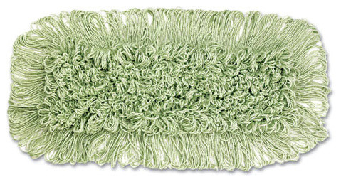 Echomop Loop end Dust Mop 36X5 Cotton/Synthetic Green 1 modern-mops-brooms-and-dustpans