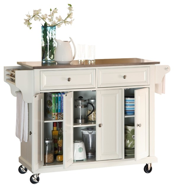 Kitchen Cart/Island contemporary-kitchen-islands-and-kitchen-carts