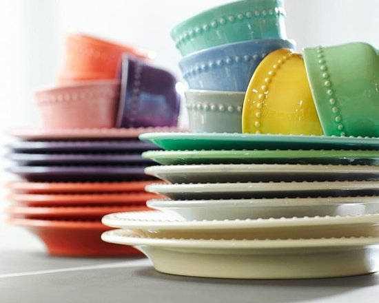 Emma Salad Plates & Snack Bowls, Sets of 4 -