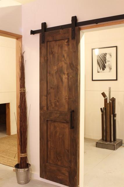 Industrial Barn Door Hardware contemporary-home-improvement