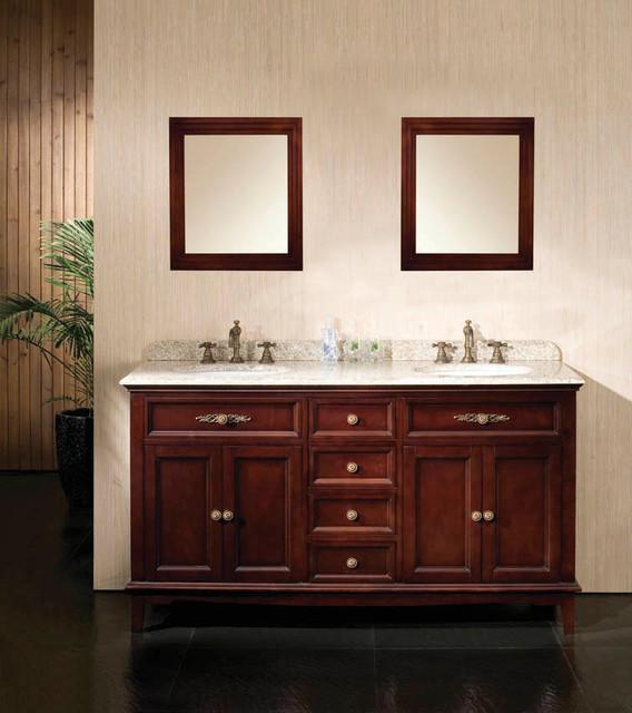 Dustin Double Vanity Bathroom Vanities And Sink Consoles Other Metro By