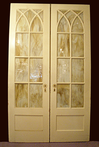 Gothic-Style French Doors - Traditional - Interior Doors - other metro - by The Brass Knob