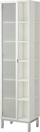 LILLÅNGEN High cabinet w/1 door & 2 end units modern-storage-units-and-cabinets