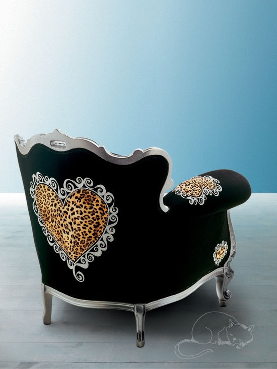 Creazioni Alice Armchair - ALICE gold and black Armchair Creazioni from £1,980. Ships worldwide. Email ilive@imagine-living.com