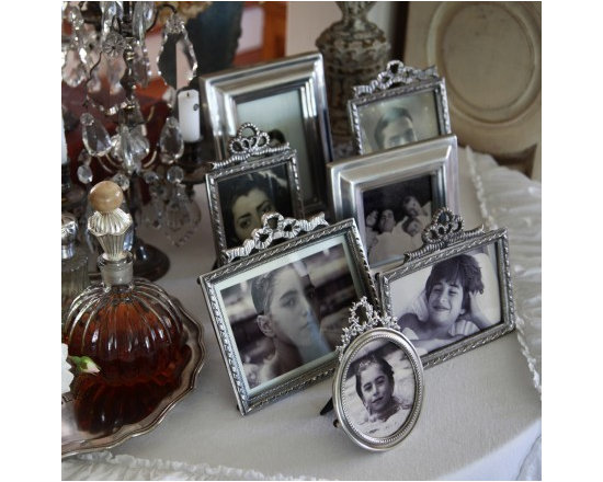 Pom Pom at Home Silver Picture Frame - The Pom Pom at Home Collection is defined by its nod to vintage style, element of glamour, sophistication and high quality materials.