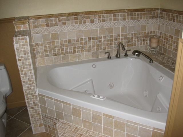 walk in shower and jacuzzi tub eclectic other metro