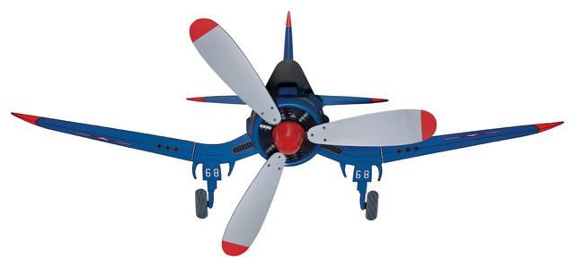 """Hunter Fan Company 24852 Fantasy Flyer Blue 48"""" Ceiling Fan contemporary-ceiling-fans"""