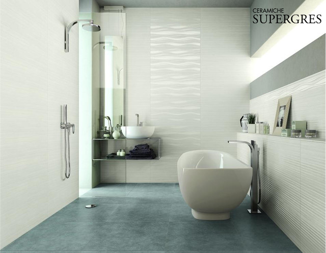 Bathroom Wall Covering Marble Effect Traditional Tile Other Metro By