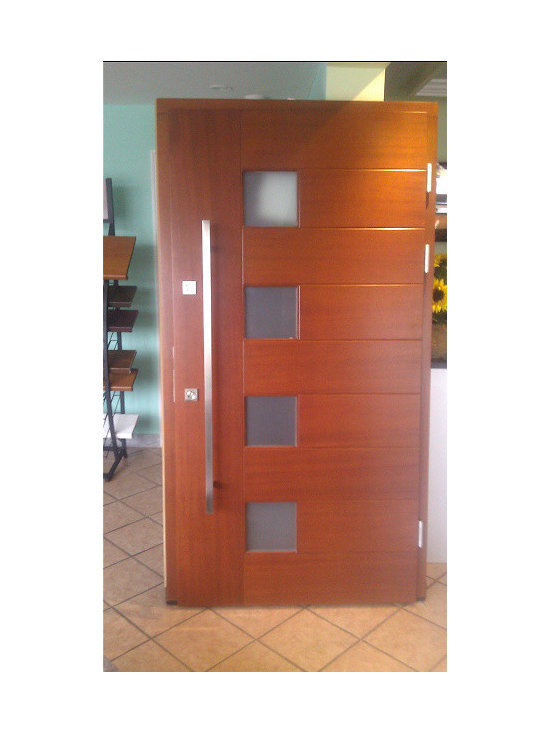 Modern Exterior Doors / Contemporary Exterior Doors - Our newest design available for exterior doors