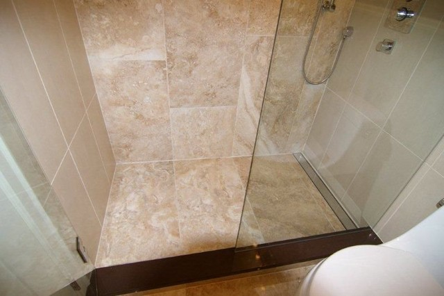 Linear Shower Drain Modern Bathroom Vancouver By