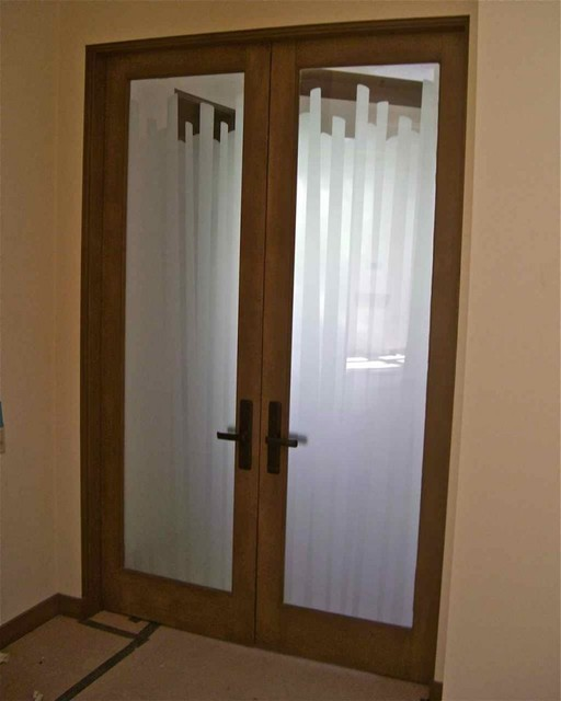 Interior glass doors with obscure frosted glass cane eclectic other metro by sans soucie Interior doors frosted glass
