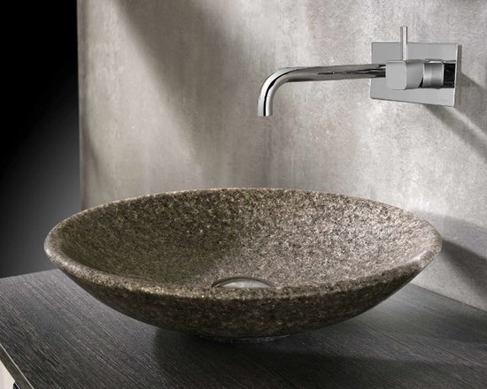 Cifial Natural Mica Stone Basin - A beautiful counter-top basin made from recycled crushed Mica stone.