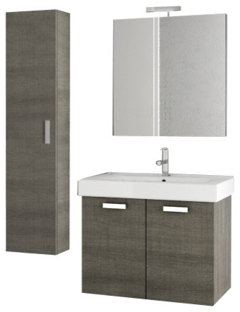 30 inch grey oak bathroom vanity set modern bathroom vanity units and