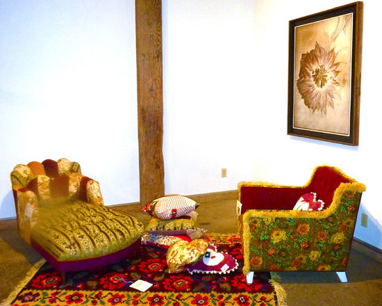 Eclectic art space -