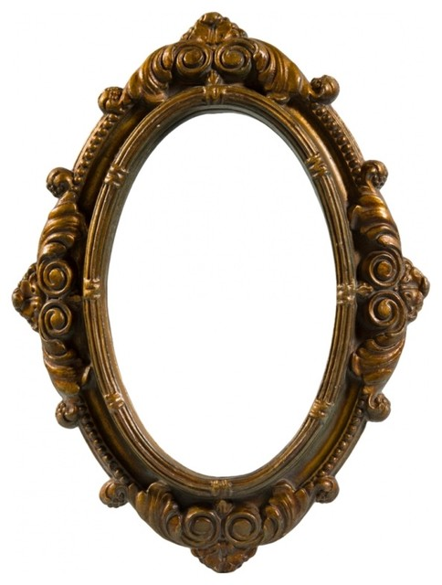 Carved vintage mirror victorian wall mirrors new for Vintage mirror