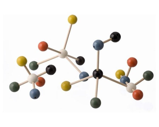 Ferm Living Molecule Building Set - This molecule building set is great for the scientists out there. Plus, it's fun to build and great to look at.