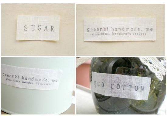 Modern Eco Cotton Tape for Stamping by PrettyTape contemporary-desk-accessories