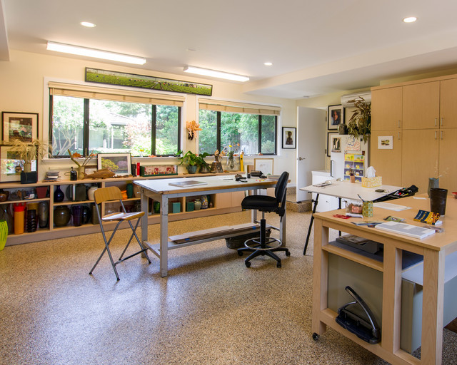 Offices contemporary-home-office