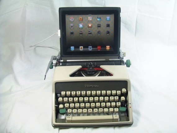 USB Typewriter Olympia Portable  desk accessories