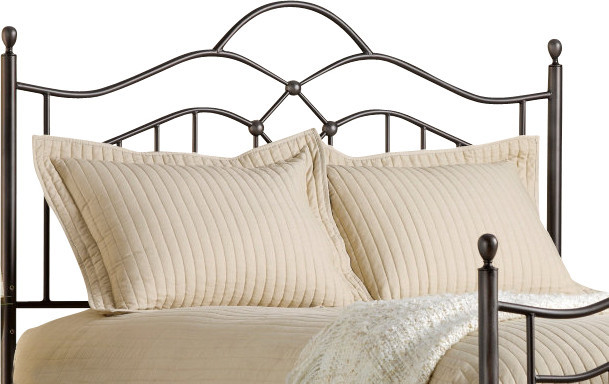 Hillsdale Oklahoma Panel Headboard - King traditional-headboards
