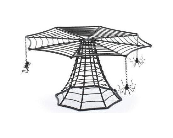 Spiderweb Cake Stand -