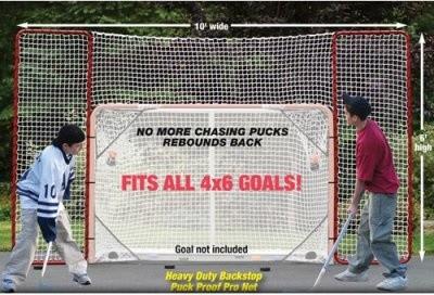 EZ Goal 10 x 6 ft. Hockey Backstop modern-wall-hooks