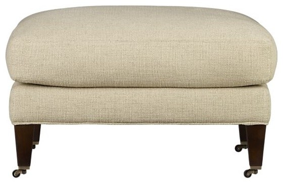 Essex Ottoman with Casters modern-footstools-and-ottomans