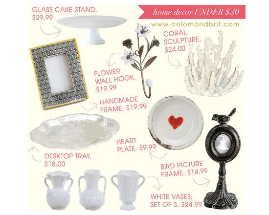 Decor ideas under $30! - Decor ideas under $30! http://www.colomandbrit.com/blog/2013/08/28/8-home-decor-ideas-under-30/
