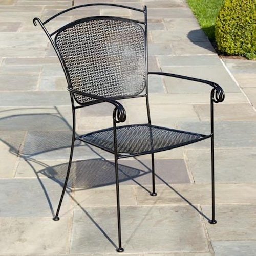 Alfresco Home Sunnyvale Dining Arm Chair contemporary-outdoor-lounge-chairs