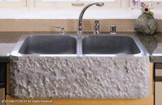 Stone Farmhouse Kitchen Sinks : All Products / Kitchen / Kitchen Fixtures / Kitchen Sinks