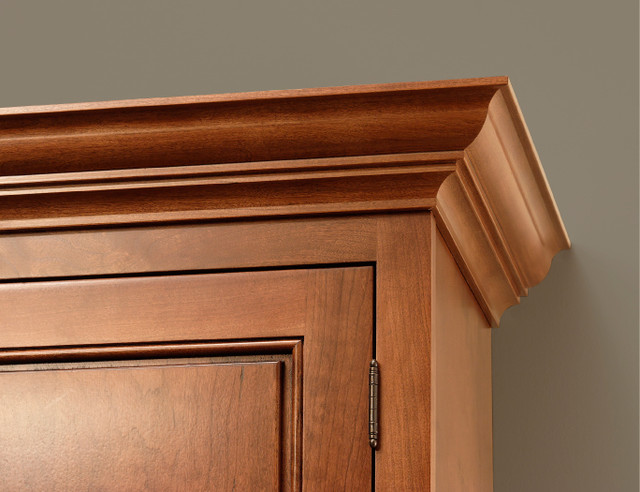 Classic Crown Molding | CliqStudios.com - Traditional - Kitchen Cabinetry - minneapolis - by ...