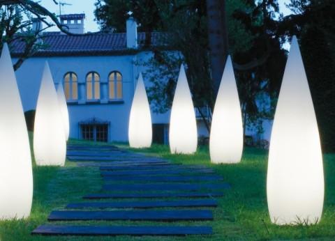 kanpazar 150cm garden light contemporary outdoor floor