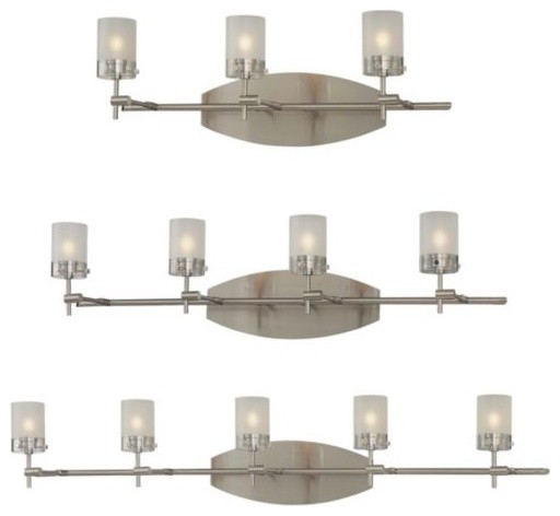 5010 Series Bath Bar By George Kovacs Contemporary Bathroom Vanity Lighting By Lumens