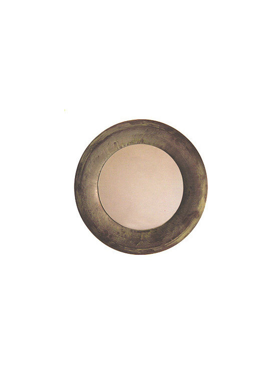 Three Sizes of Round Copper Wall Mirrors Home and Garden Decor -