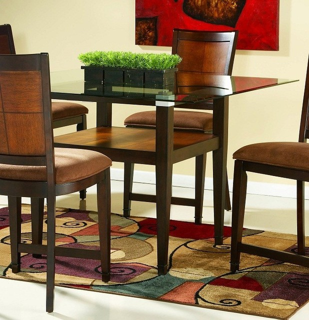 Bassett Mirror Counter Height Gathering Table D1171 730c H Traditional Bar Stools And