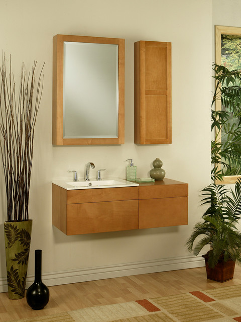 "23.5"" Lincoln Street Wall-Mount Vanity traditional-bathroom-vanities-and-sink-consoles"