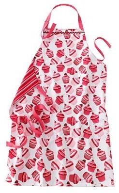 Valentine's Day Cupcake Apron eclectic-aprons