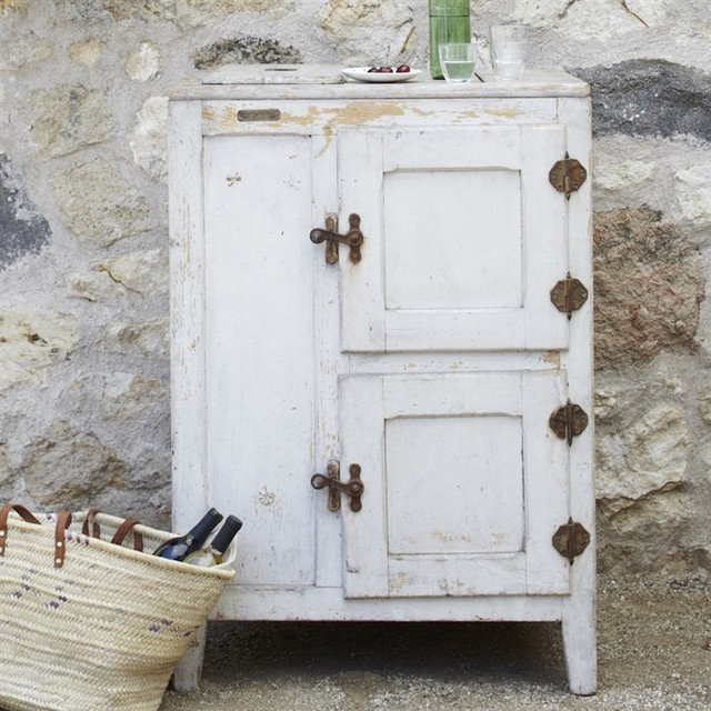 Vintage Icebox eclectic