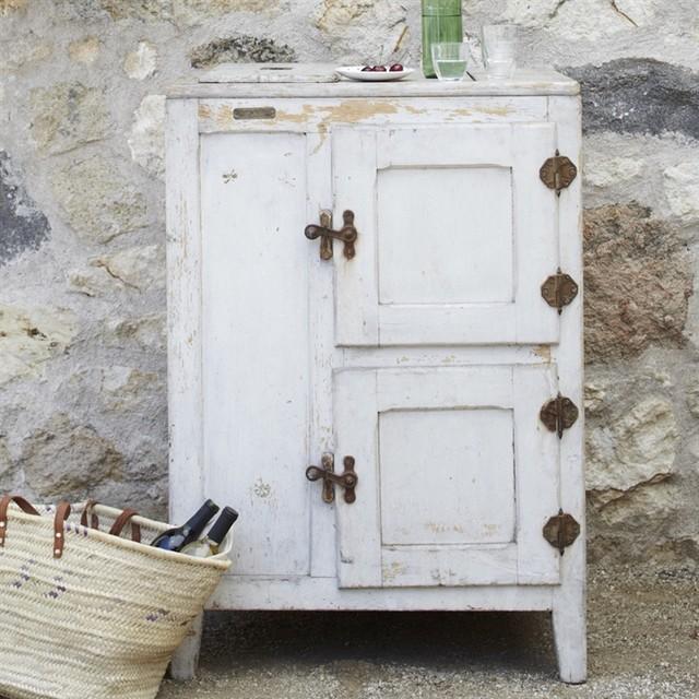 Vintage Icebox eclectic