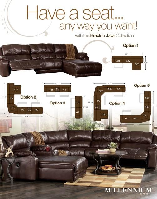 Ashley Furniture - sectional sofas - philadelphia - by FurnitureCart.