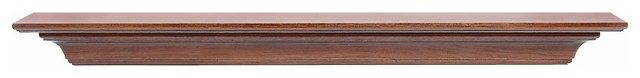 """The Homestead Fireplace Surround, Antique Birch, 60"""" contemporary-fireplace-mantels"""
