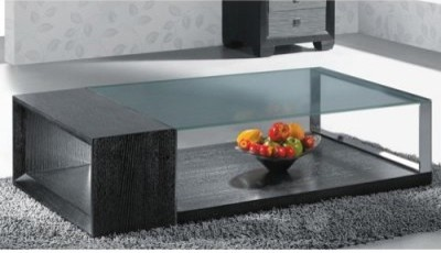 Armen Living 880 Rectangle Wenge Wood Coffee Table modern-coffee-tables
