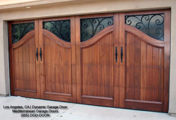 Mediterranean Style Garage Doors | Custom Designed & Manufactured in California mediterranean garage doors