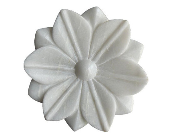 White Marble Plate -